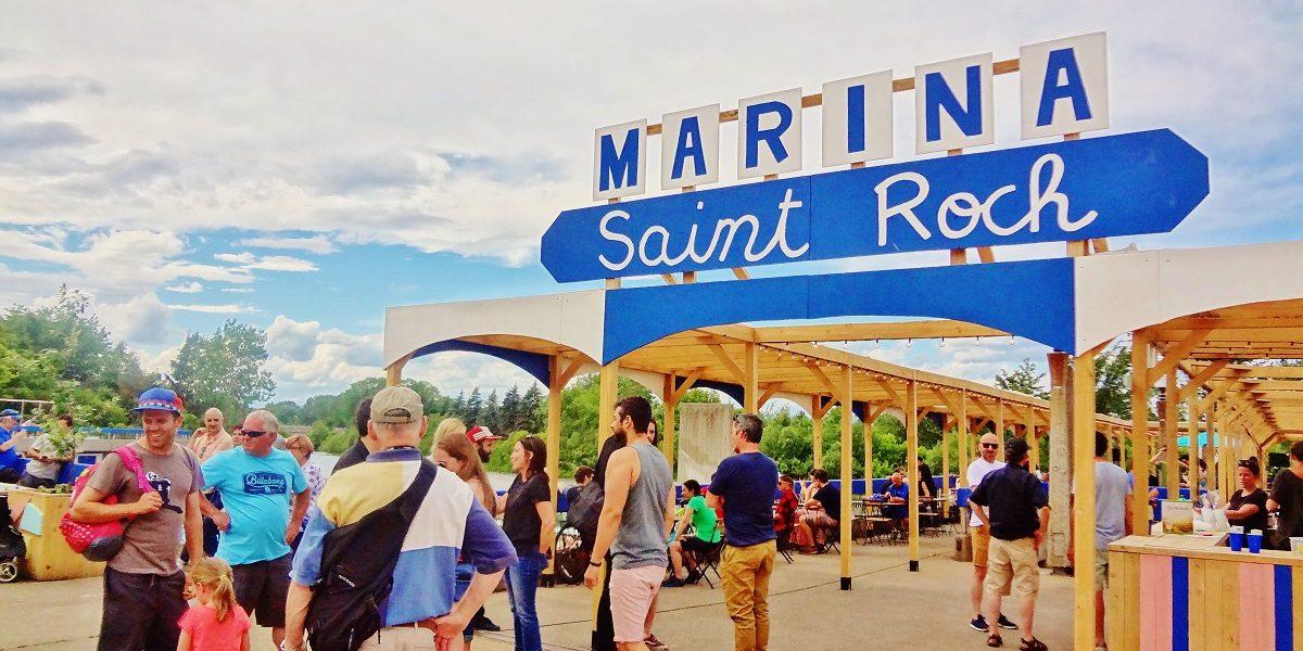Colorée, rafraîchie, animée : la Marina Saint-Roch se dévoile | 25 juin 2017 | Article par Jessica Lebbe