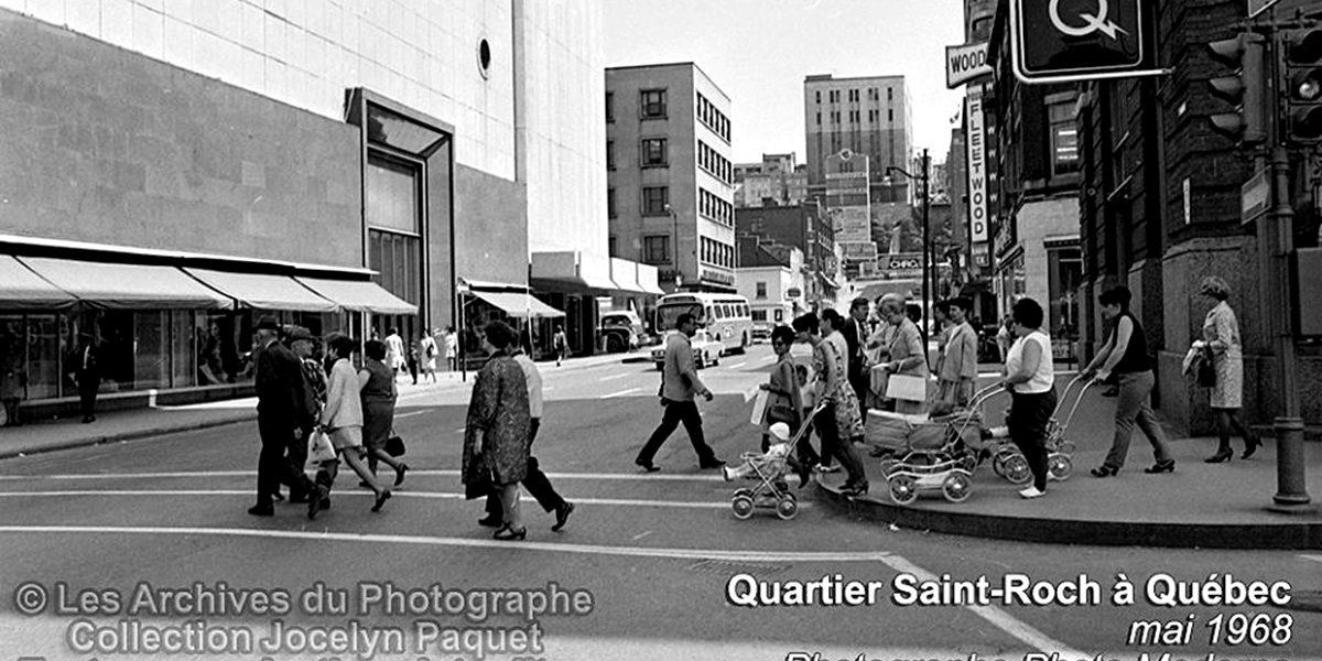 Saint-Roch dans les années 1960 (11) : piétons au coin de la Couronne et Saint-Joseph | 9 juillet 2017 | Article par Jean Cazes
