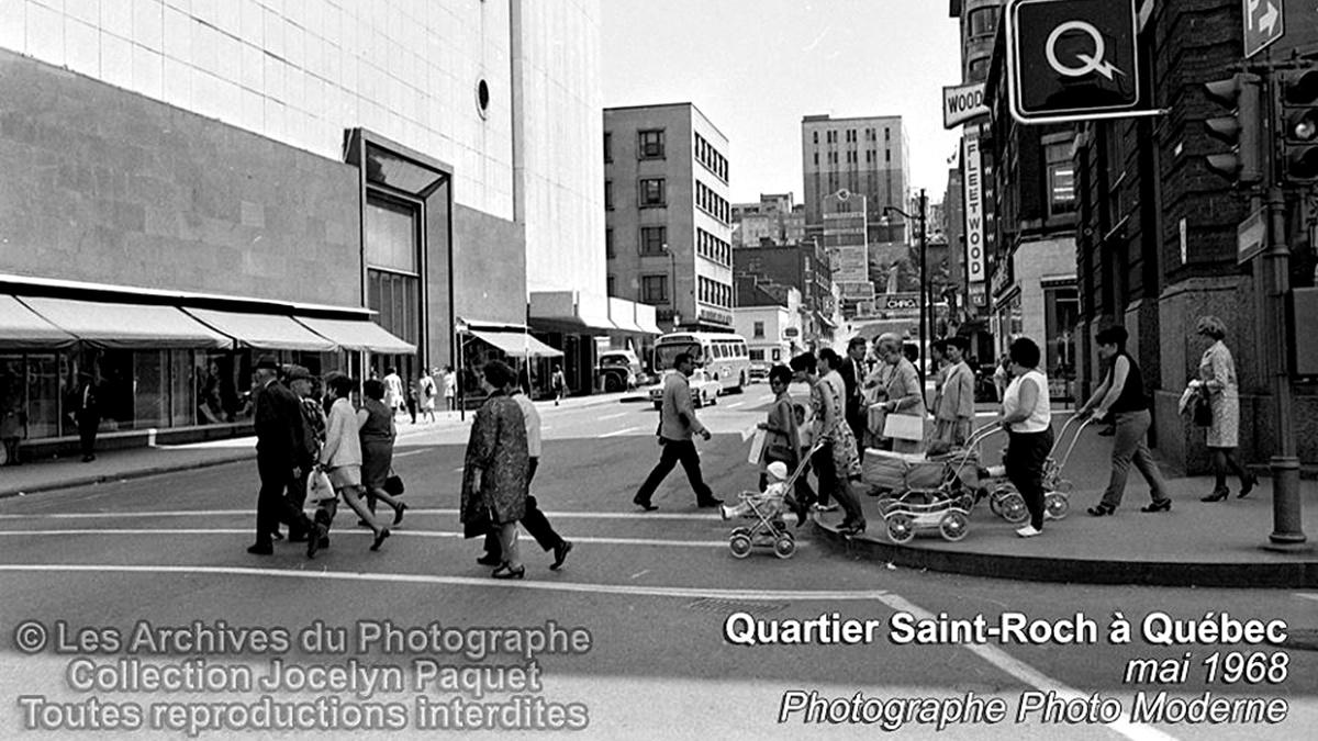 Saint-Roch dans les années 1960 (11) : piétons au coin de la Couronne et Saint-Joseph   9 juillet 2017   Article par Jean Cazes