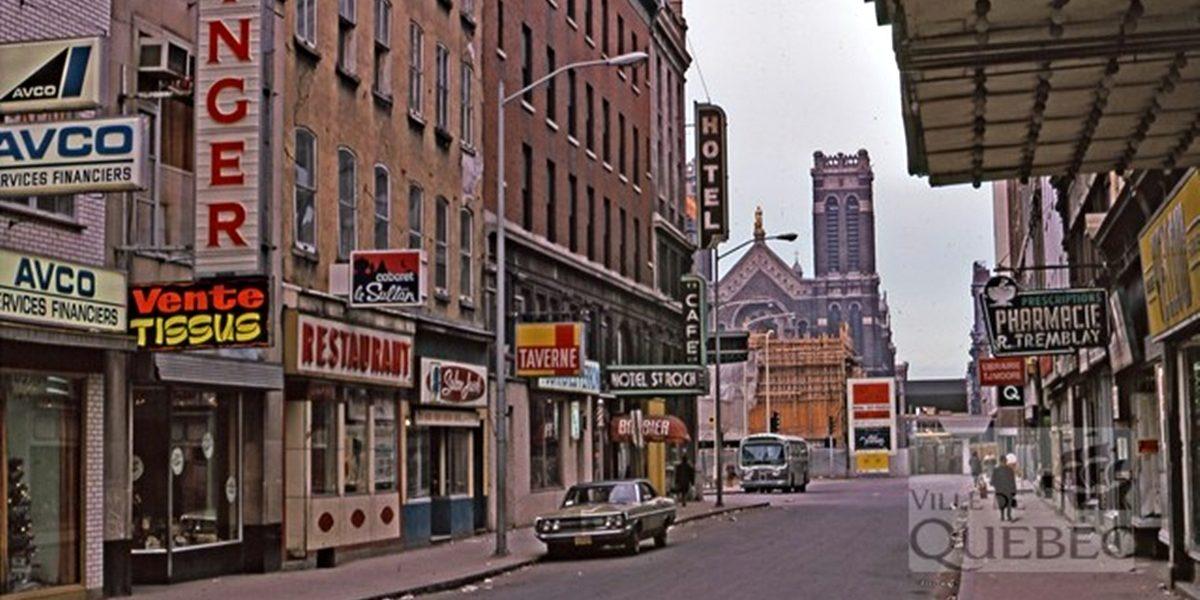 Saint-Roch dans les années 1970 (10) : Hôtel Saint-Roch, rue Saint-Joseph Est | 8 octobre 2017 | Article par Jean Cazes