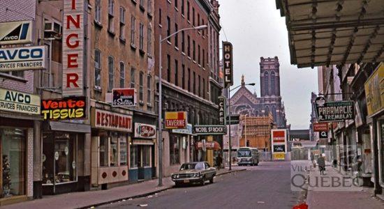 Saint-Roch dans les années 1970 (10) : Hôtel Saint-Roch, rue Saint-Joseph Est - Jean Cazes