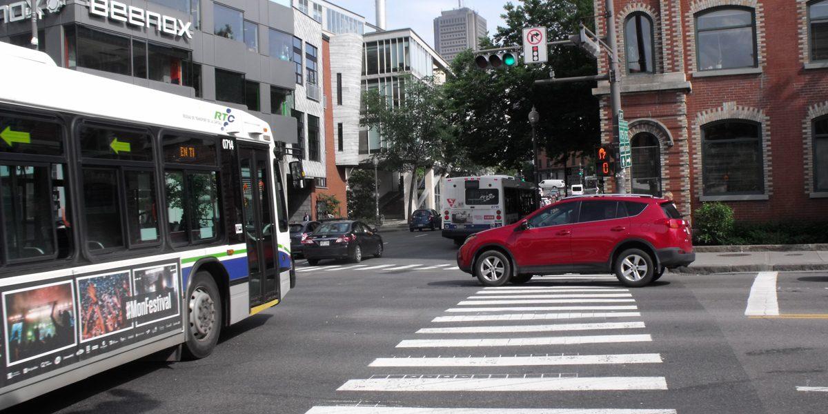 Des intersections à revoir pour protéger les piétons | 10 juillet 2017 | Article par Céline Fabriès