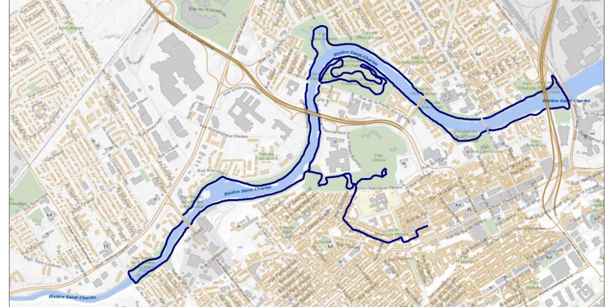 Trajet 15 km