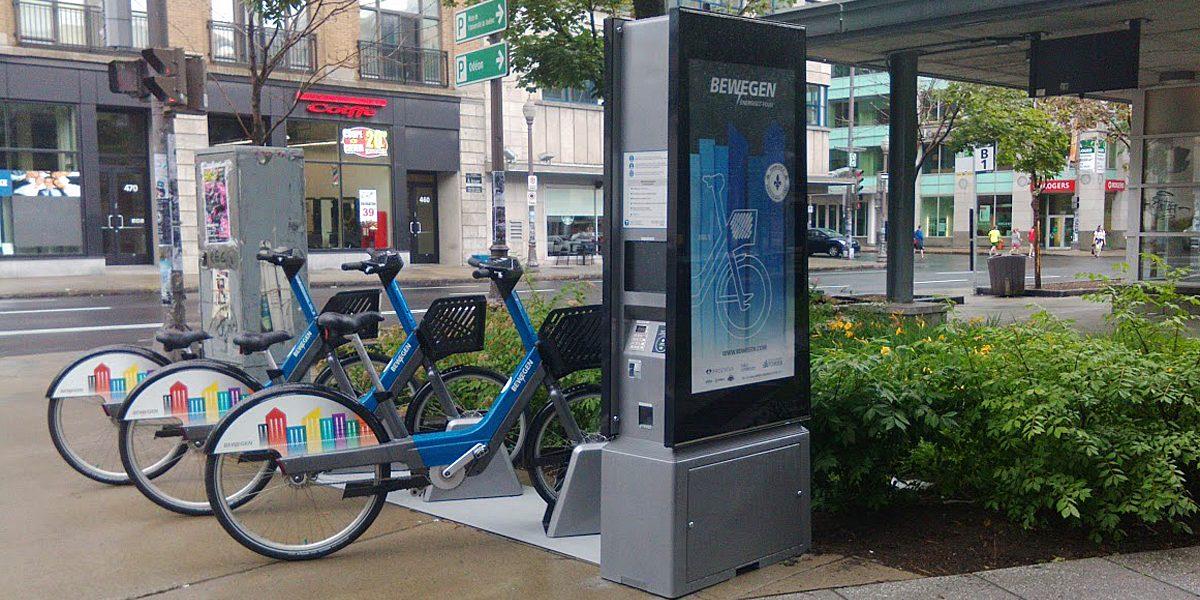 Vélos électriques libre-service à Saint-Roch: première station Bewegen au Canada? | 15 juillet 2017 | Article par Suzie Genest