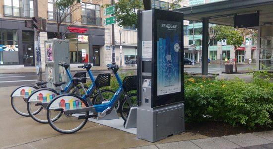 Vélos électriques libre-service à Saint-Roch: première station Bewegen au Canada? - Suzie Genest