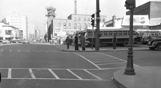 Saint-Roch dans les années 1950 (10) : site de la Gare centrale d'autobus - Jean Cazes