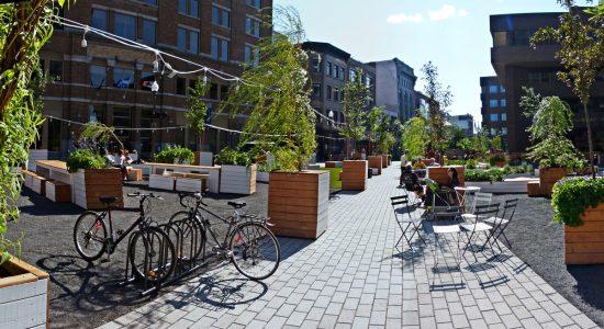 Place éphémère Jacques-Cartier : la population sollicitée pour son évaluation - Monsaintroch