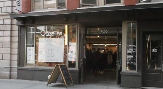 Gazelles Fashion : fermeture, retraite et retour à la création - Suzie Genest
