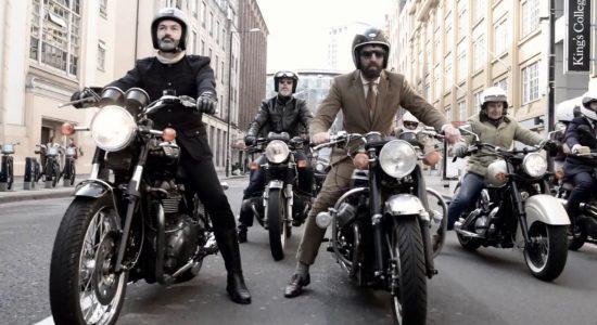 La Barberie accueille la 'Gentleman's ride'