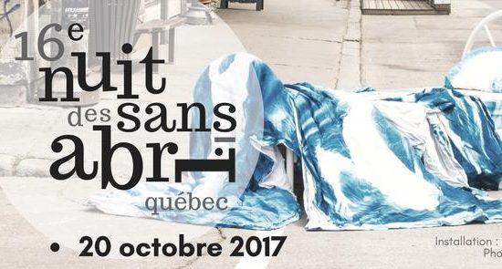 16e Nuit des sans-abri de Québec