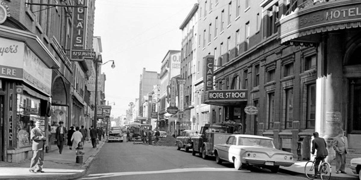 Saint-Roch dans les années 1960 (14) : Hôtel Saint-Roch, rue Saint-Joseph Est | 5 novembre 2017 | Article par Jean Cazes