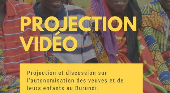 Projection vidéo | Autonomisation des veuves et de leurs enfants