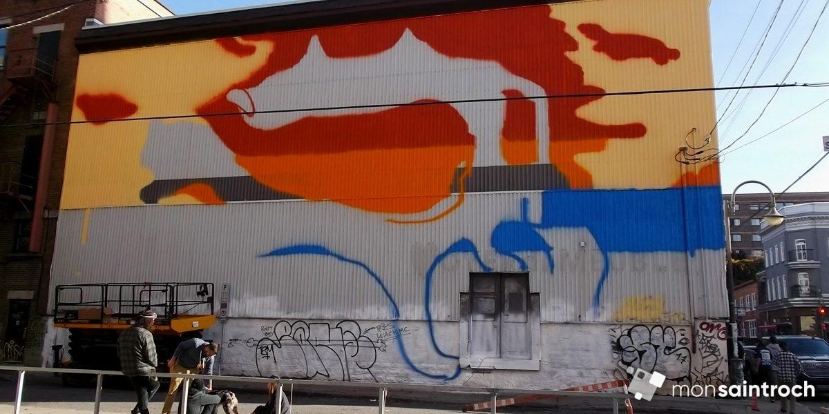 Une murale de Soldevila en cadeau pour les 10 ans du Cercle | 23 octobre 2017 | Article par Suzie Genest