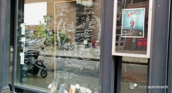 Québec en toutes lettres : Écrire Québec jusque dans Saint-Roch - Monsaintroch