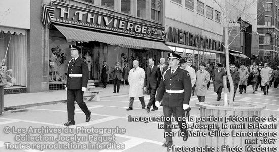 Saint-Roch dans les années 1960 (16) : inauguration de la portion piétonnière de la rue Saint-Joseph - Jean Cazes