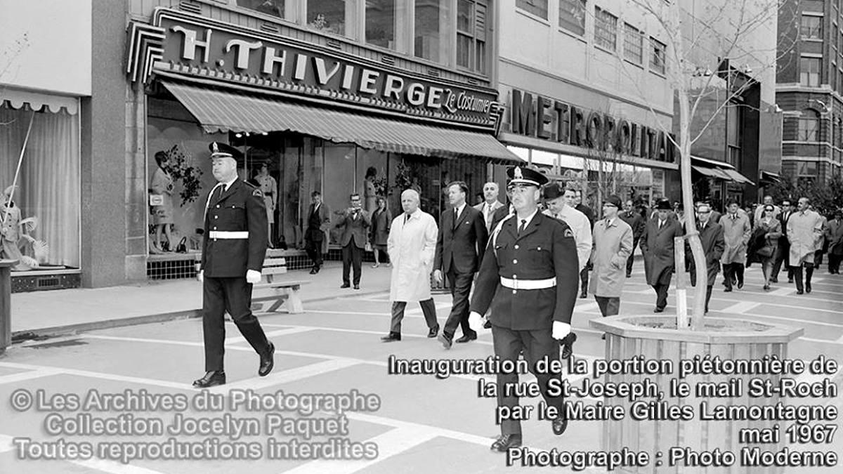 Saint-Roch dans les années 1960 (16) : inauguration de la portion piétonnière de la rue Saint-Joseph | 2 décembre 2017 | Article par Jean Cazes