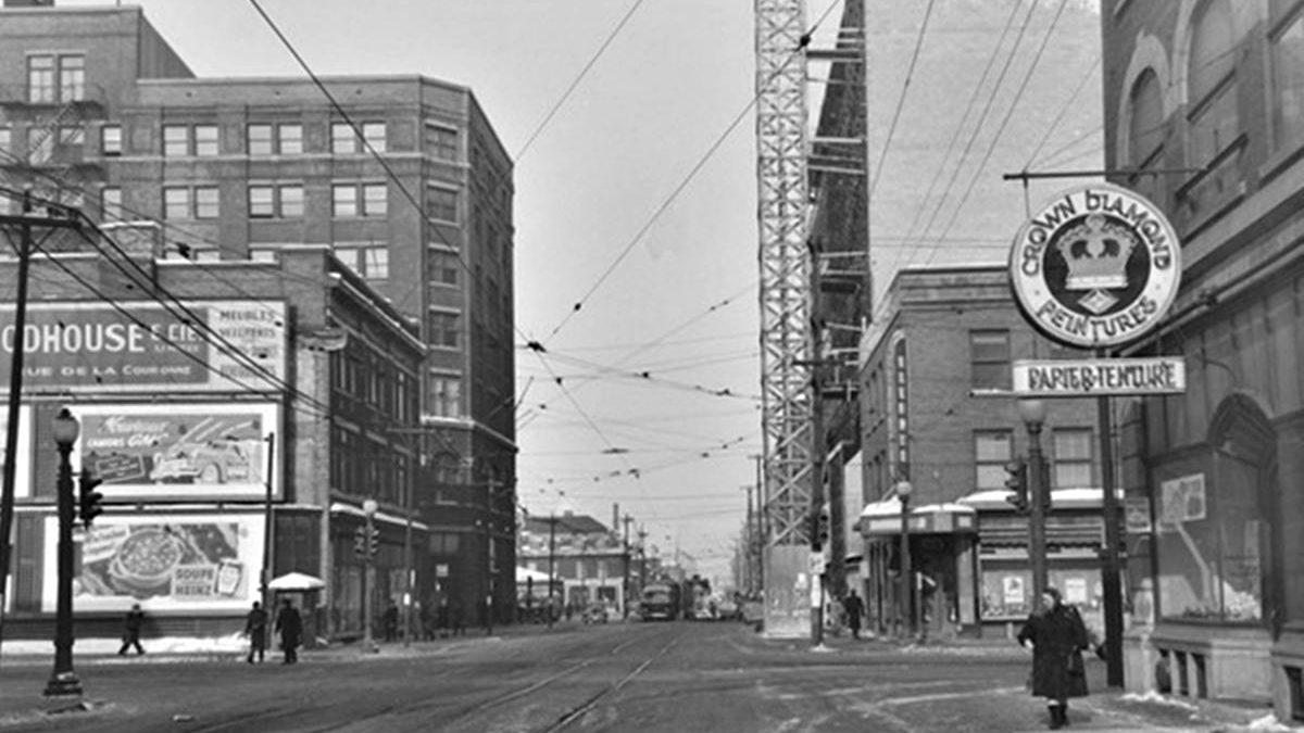 Saint-Roch dans les années 1940 (9) : coin de la Couronne et Charest | 4 février 2018 | Article par Jean Cazes