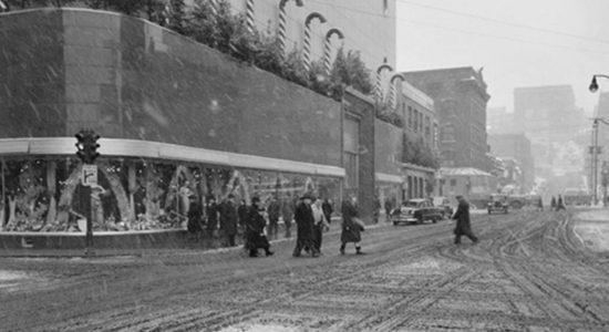 Saint-Roch dans les années 1940 (7) : décorations de Noël - Jean Cazes