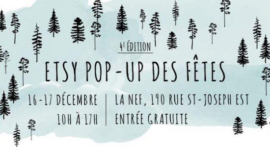 Etsy Pop-up des fêtes | 4e édition