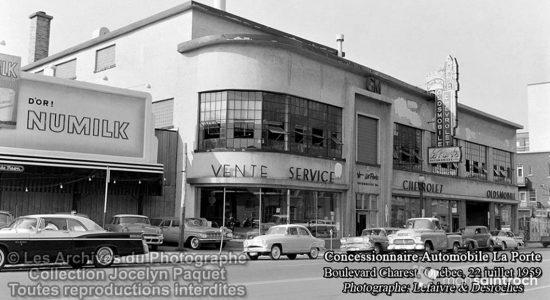 Saint-Roch dans les années 1950 (12) : vous souvenez-vous de Laporte Automobiles ? - Jean Cazes