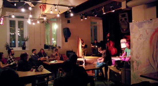 L'Ensemble de musique improvisée de Québec : bouchées de présent - Suzie Genest