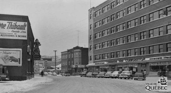 Saint-Roch dans les années 1950 (15) : la Canadian Tire Corporation - Jean Cazes