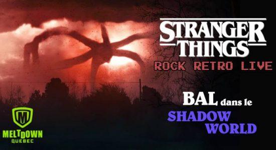 Stranger Things : Rock Retro live