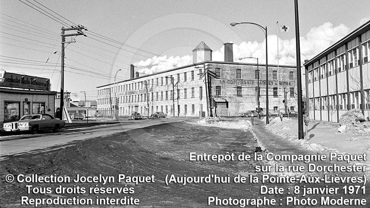 Saint-Roch dans les années 1970 (18) : l'entrepôt de la compagnie Paquet | 24 juin 2018 | Article par Jean Cazes