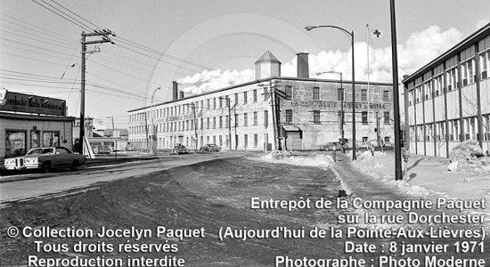 Saint-Roch dans les années 1970 (18) : l'entrepôt de la compagnie Paquet - Jean Cazes