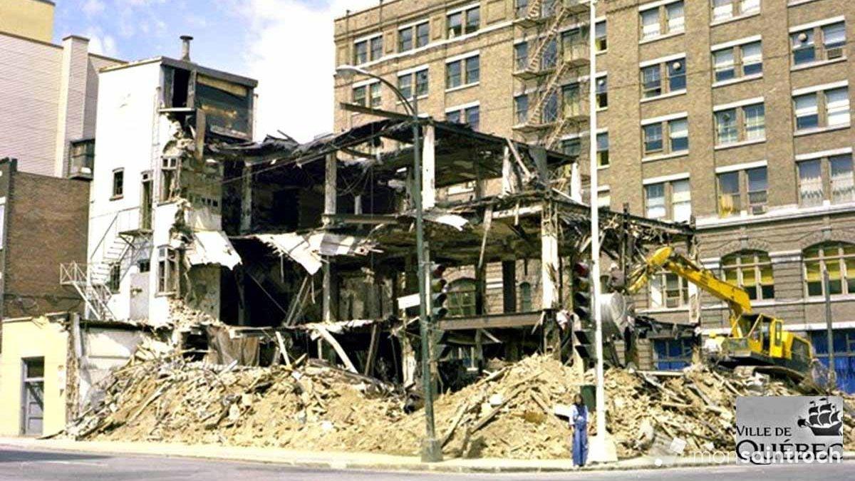 Saint-Roch dans les années 1970 (17) : démolition de l'immeuble abritant Woodhouse   22 avril 2018   Article par Jean Cazes