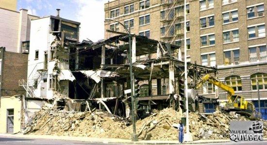 Saint-Roch dans les années 1970 (16) : démolition de l'immeuble abritant Woodhouse - Jean Cazes