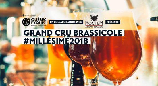 Grand Cru Brassicole #Millésime 2018