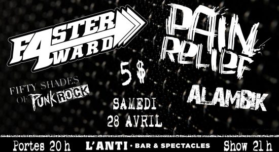 Pain Relief   FasterForward   50 Shades of Punk Rock   Alambik