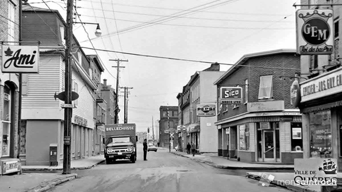Saint-Roch dans les années 1960 (17) : intersection du Pont – de la Reine | 13 mai 2018 | Article par Jean Cazes