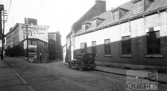 Saint-Roch dans les années 1920 (1) : rue Saint-Vallier Est et chaussures A. E. Marois - Jean Cazes