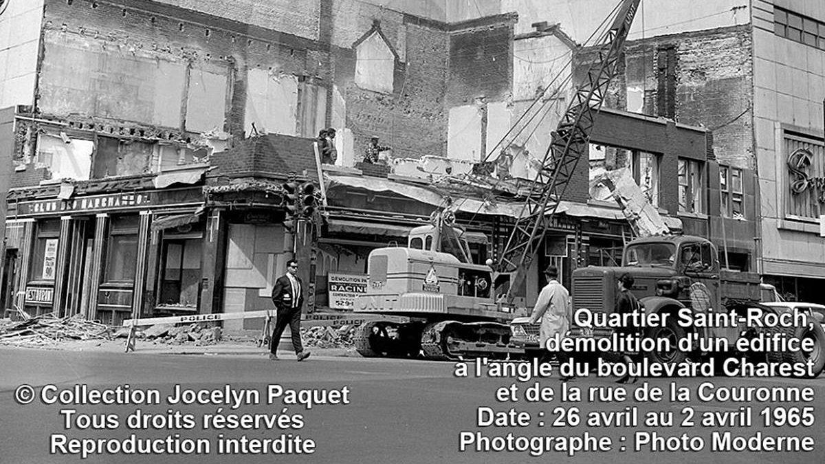Saint-Roch dans les années 1960 (19) : démolition au Syndicat | 8 juillet 2018 | Article par Jean Cazes