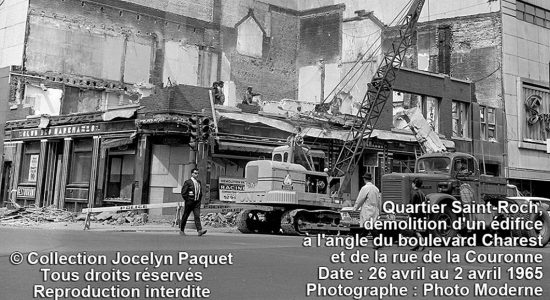 Saint-Roch dans les années 1960 (19) : démolition au Syndicat - Jean Cazes