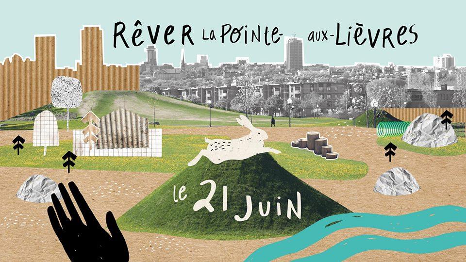 Un espace collectif en gestation pour la Pointe-aux-Lièvres | 7 juin 2018 | Article par Suzie Genest