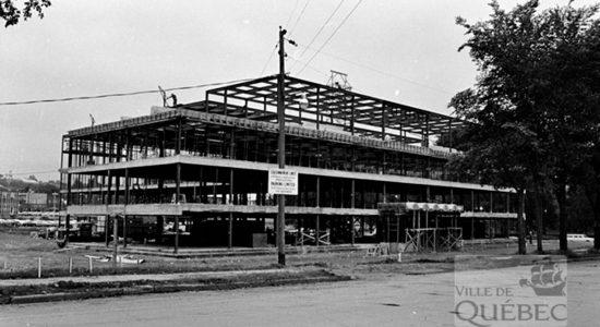 Saint-Roch dans les années 1960 (20) : construction de la centrale de police - Jean Cazes
