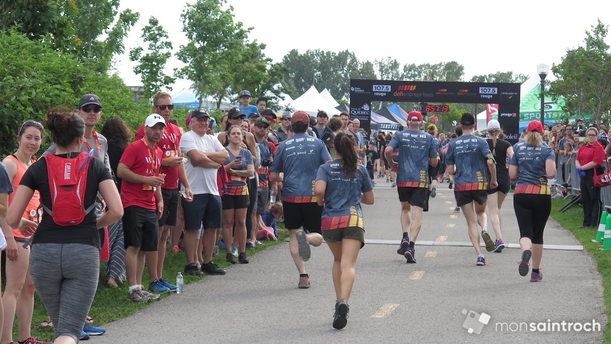 Plus de 9000 coureurs au Défi Entreprises Québec | 10 juillet 2018 | Article par Véronique Demers