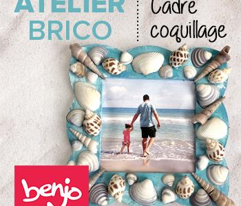 Atelier brico • Cadre coquillage