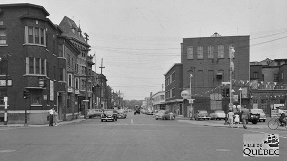 Saint-Roch dans les années 1950 (18) : intersection Charest et Dorchester | 2 septembre 2018 | Article par Jean Cazes