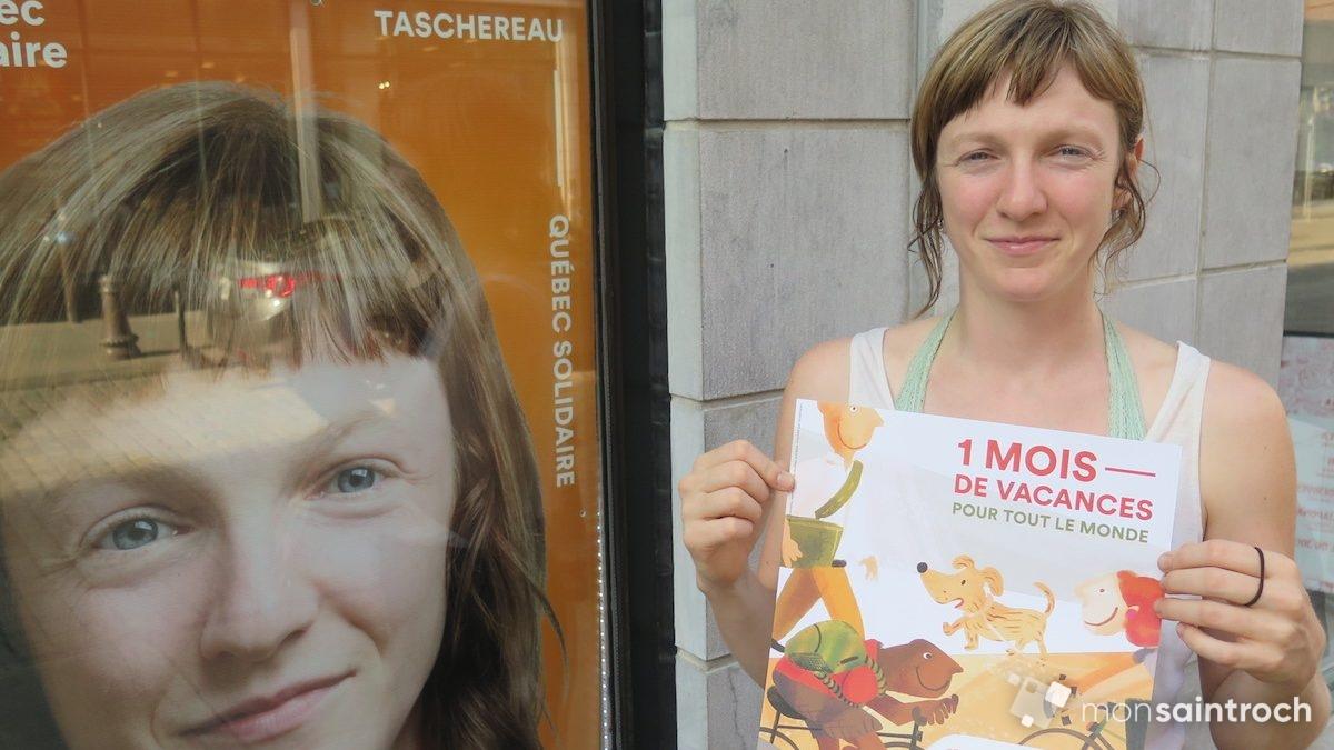 Catherine Dorion, candidate de Québec solidaire dans Taschereau | 6 septembre 2018 | Article par Véronique Demers