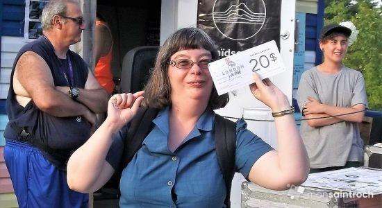Mélanie Poulin, une gagnante tout sourire