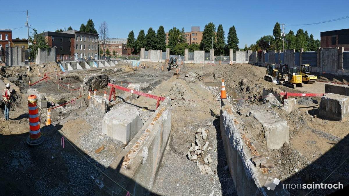 Vestiges du 19e siècle sous le site du poste de la Reine | 30 septembre 2018 | Article par Jean Cazes