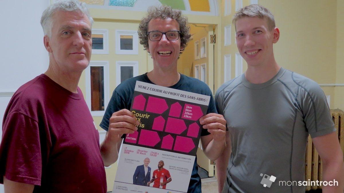 Des usagers d'organismes participent à la 2e édition de Courir aux abris | 19 septembre 2018 | Article par Véronique Demers