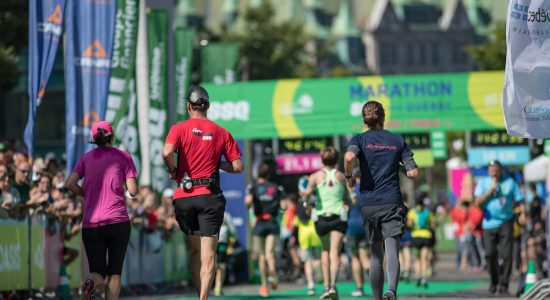 Un 21e Marathon SSQ au coeur de Québec - Véronique Demers