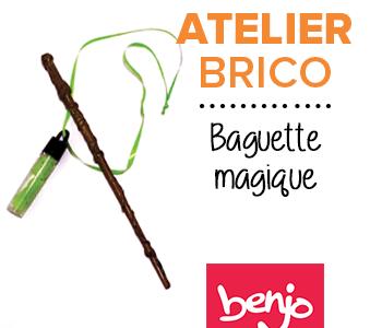 Atelier brico • Baguette et potion