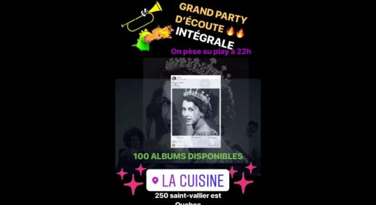 Party d'écoute du nouvel album d'Alaclair Ensemble