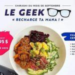 Le Geek | Chirashi du mois de septembre - Ogari-San Sushi